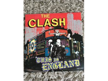 The Clash vinylskiva singel