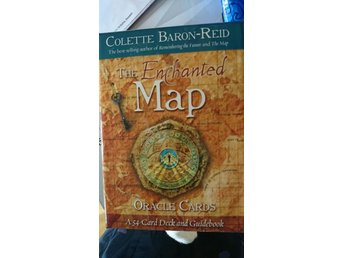 Tarot. The enchanted map. Oracle cards.