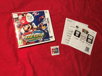 MARIO & SONIC AT THE RIO 2016 OLYMPIC GAMES NINTENDO 3DS BRA SKICK