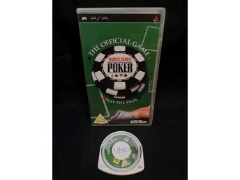 World Series of Poker / PSP / Sony / Playstation.