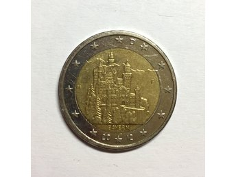 2 euro coin - Neuschwanstein Castle (Bavaria) - Germany, 2012