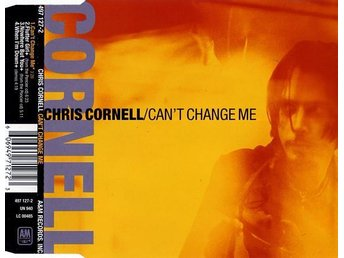 CHRIS CORNELL CAN'T CHANGE ME 1999 RARE M/M MAXI SINGEL