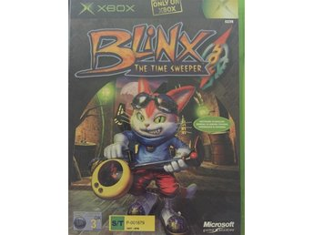 Blinx The Time Sweeper Xbox