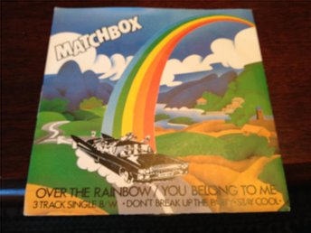 Matchbox-Over the rainbow,you belong to me + 2 - 3 track ep