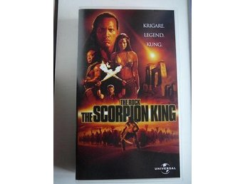 VHS - The scorpion king!