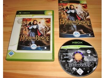 Xbox: Lord of the Rings the Return of the King