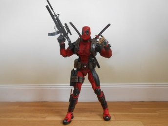NECA Samlarfigur 1/4 scale Number 00 Series Interception Figure Deadpool