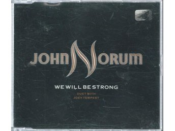 JOHN NORUM - WE WILL BE STRONG   (CD SINGLE )