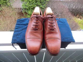 "John Spencer ""Dorchester"" oxfordskor UK 7,5"