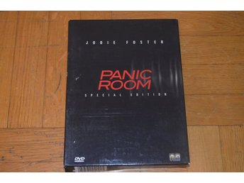 Panic Room (Jodie Foster) - DVD - Special Edition Box 3-Disc *Sällsynt*