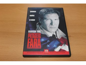 Dvd-film: Påtaglig fara (Harrison Ford)