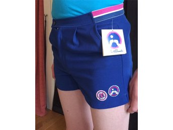 Vintage Tennis shorts John Newcombe 80's Polyester Rare