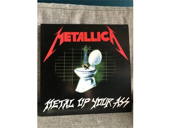 METALLICA - Metal Up Your Ass (green vinyl, pre Cliff, pre Kirk ) *rare*