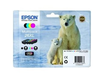 Epson C13T26364010 4-colours 26XL Claria Premium Ink