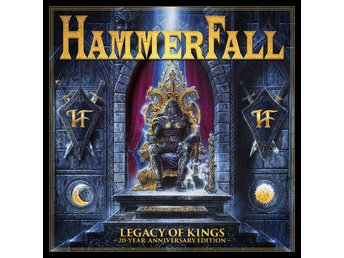 Hammerfall: Legacy of kings 1998 (20 year ann.) (2 CD + DVD)