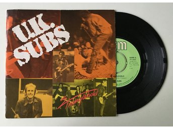 "UK Subs ""Stranglehold"" 1979 Push Out"