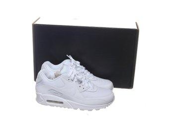 Nike, Sneakers, Strl: 40, Air Max 90 Essential, Skinn, Vit