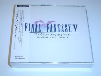 Final Fantasy 5 Original Soundtrack Musik *NYTT*