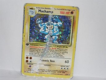 pokemonkort pokemon kort machamp damaged v4
