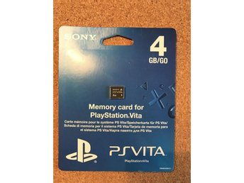 Playstation Vita Memory card 4GB - PSVita minneskort