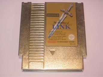 Zelda 2 The Adventure of Link till Nintendo NES 8-bit, PAL-B
