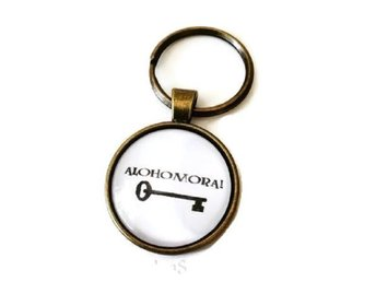 Nyckelring Alohomora! - Harry Potter - Unlocking Charm