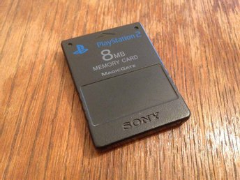 Memory Card - Minneskort - Playstation 2