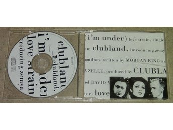 CD Maxi : Clubland - (I´m under) love strain