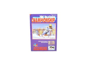 Val d'Isere Championship (Manual Snes EUR)