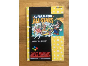 SNES - Super Mario All Stars - SCN Manual