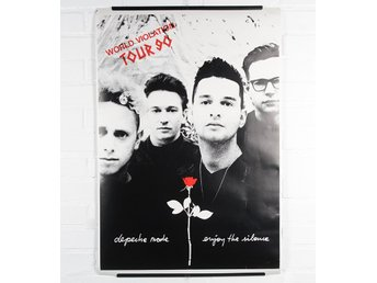 Affisch - Depeche Mode - World Violation Tour 1990