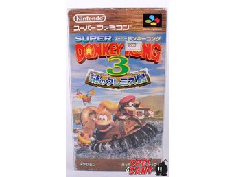 Donkey Kong Country 3  (inkl. Skyddsbox & Japansk Version)