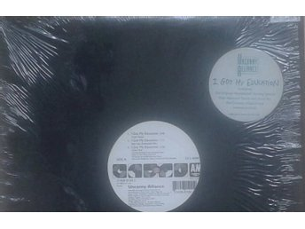 "Uncanny Alliance title* I Got My Education* House, Deep House  12"" US"