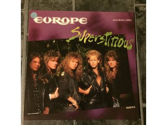"EUROPE - SUPERSTITIOUS. (MVG 12"")"