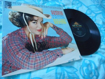 Connie Francis Country & Western Golden Hits (LP)
