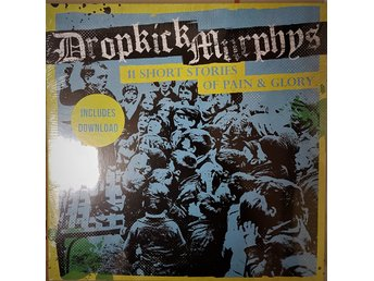 "Dropkick Murphys ""11 short stories of pain & glory"" LP"