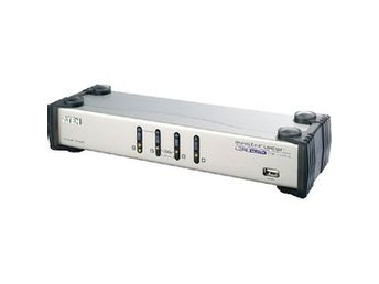 Aten 4-Port KVM-Switch Silver
