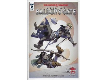 Dungeons & Dragons: Evil at Baldur's Gate # 2 Cover A NM Ny Import
