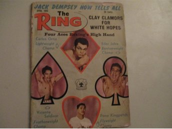 Boxning The Ring magazine April 1965