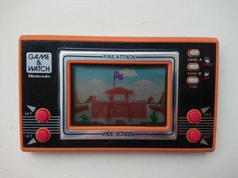Fire Attack - Game & Watch - Nintendo - Game And Watch