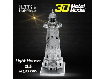 3D Pussel Metall - Byggnader - Light House