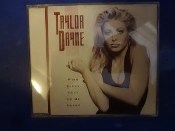 Taylor Dayne With Every Beat of My Heart CDS mycket fint skick