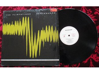 "12"" maxi: THE FLIRTATIONS Earthquake (USA 1983) Synth!"