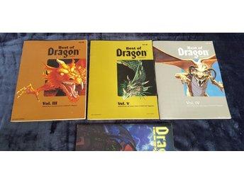 Best of Dragon Magazine 4 tidningar Dungeons &    (361056425