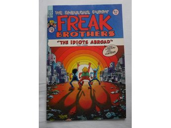 "Freak Brothers No10 ""The Idiots Abroad"" Rip Off 1976"