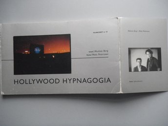 BERG  & MATS PETERSSON HOLLYWOOD HYPNAGOGIA -93 FILMKONST 18