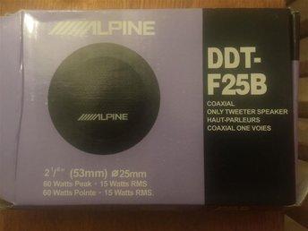 Alpine högtalare nya. - Tomelilla - Alpine högtalare nya. - Tomelilla