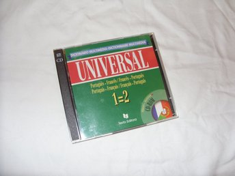 Universal Ordbok Portuguese & French Windows Mac OS