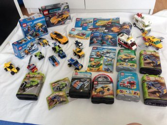 Massor av lego racers speed fordon city Creator