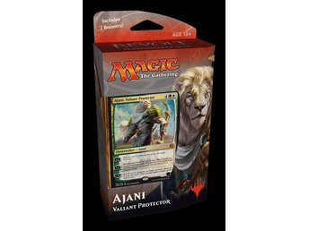 Magic the gathering, Aether Revolt Planeswalker Deck, Ajani!